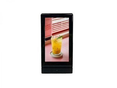 Restaurant Table Advertising Ad Player Desktop Digital Android WiFi 7 Inch LCD Table Stand Advertising Display Player