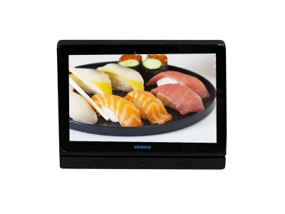 10 inch LCD touch screen advertising player