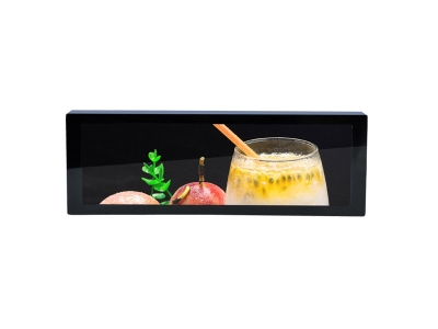 Stretched 7.8 inch Lcd Bar Display Shelf Edge Lcd Display for Supermarket Advertising