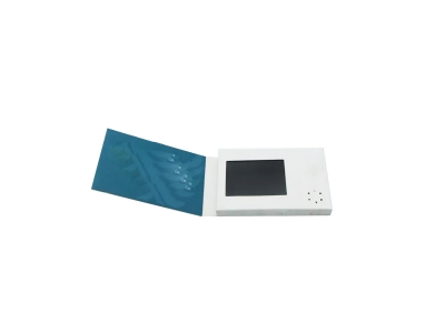 Portable Promotional 2.4 inch Video Player Paper LCD Business Card Mini Digital brochure