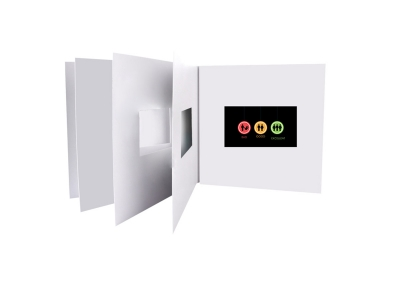 Hot Sale Video Player 4.3 inch Lcd Display Video Brochure