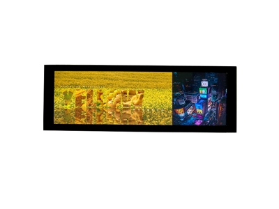 Small Thin Supermarket Retail Stores Chain Stores Video Player Shelf Edge Digital Signage